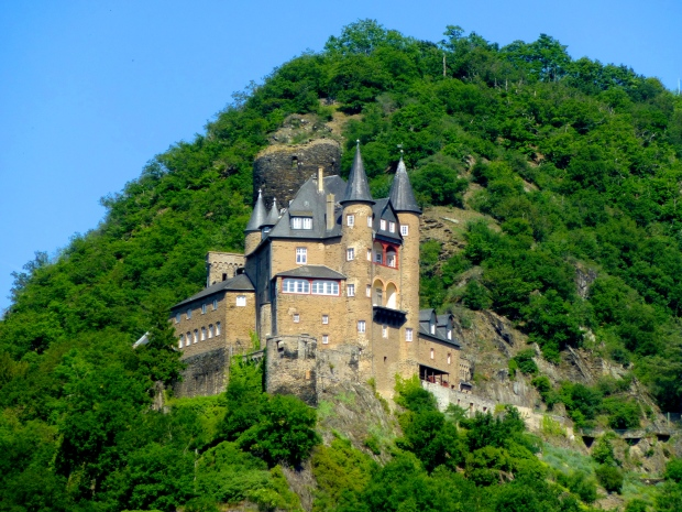 Castle in the Rhine Valley, Germany