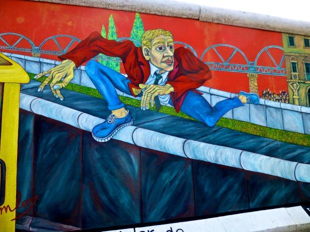 Berlin Wall Art, East Side Gallery