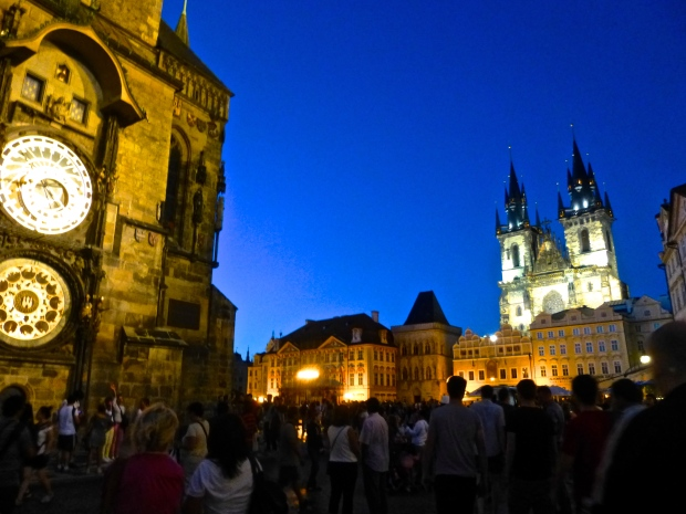 Prague Old Town Square by Night