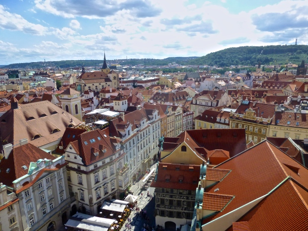 Views from the Bell Tower in Old Town Square