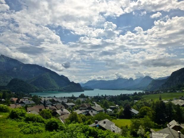 St. Gilgen on Wolfgangsee Lake