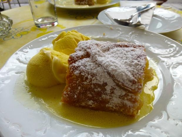 World's Best Award Winning Apple Strudel at Cafe Braun in Mondsee