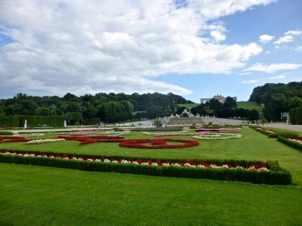 Beautiful Gardens at Schönbrunn Palace