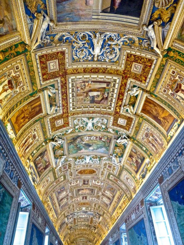 Looking Up Inside the Vatican