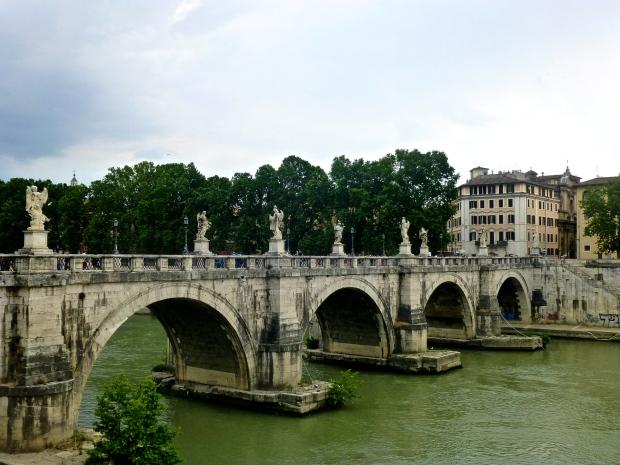 Castel Sant Angelo, Over Tiber River in Rome