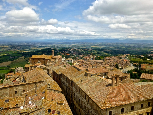 Views of Montepulciano from the Bell Tower