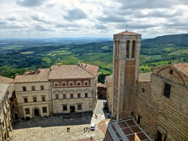 Palazzo Comunale from the Bell Tower in Montepulciano