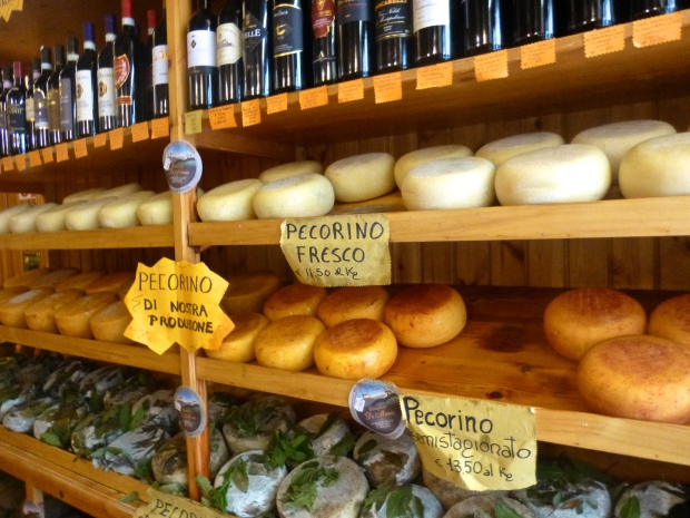 The Famous (& Smelly) Pecorino Cheese from Pienza