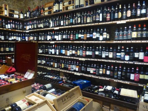 Tasting Brunellos in Montalcino