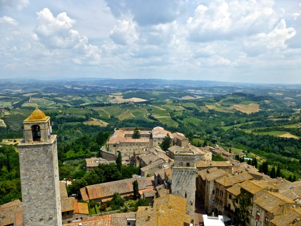 San Gimignano from the Bell Tower