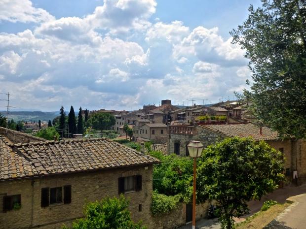 Rooftops of San Gimignano