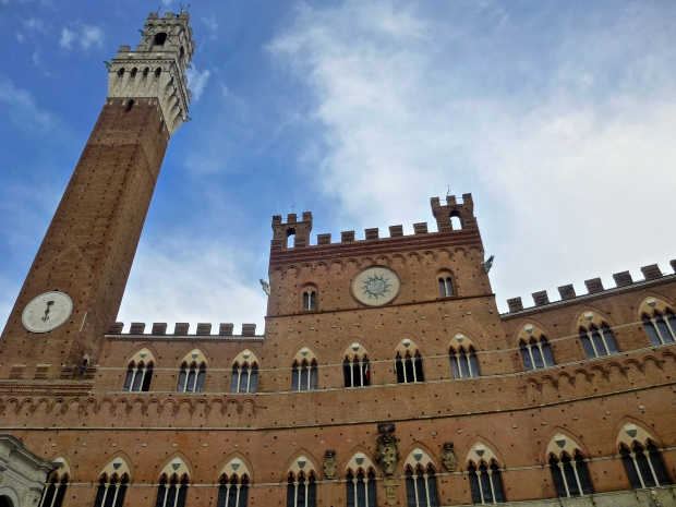 Pubblico Palace in Sienna