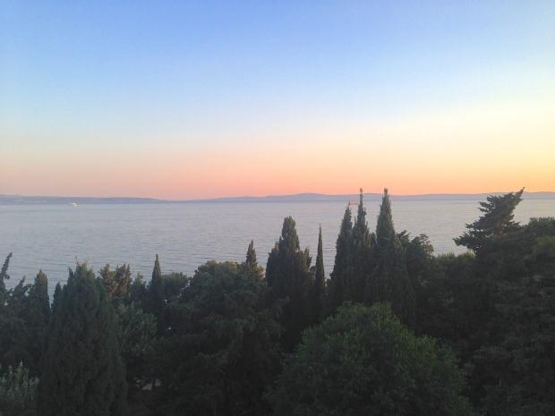 The Sunset over Split