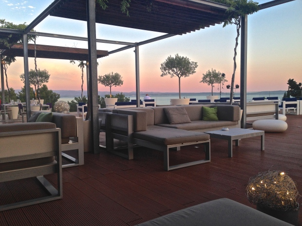 The Patio at the Radisson Blu Resort in Split