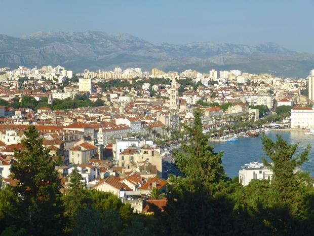 Views of Split from Marjan Hill