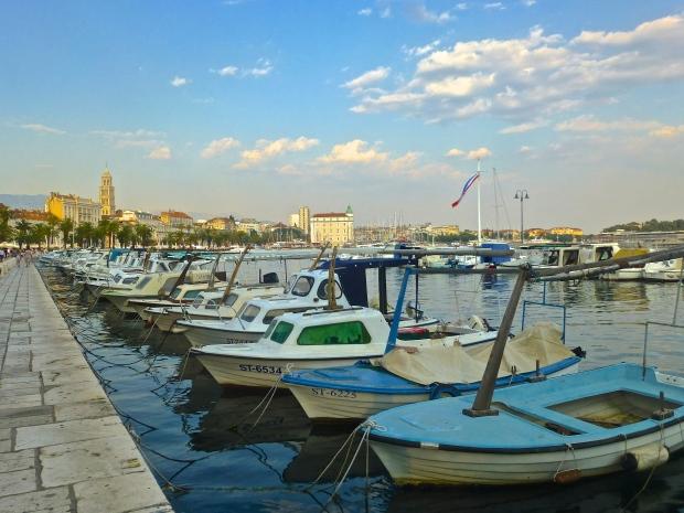 Fishing Boats in Split