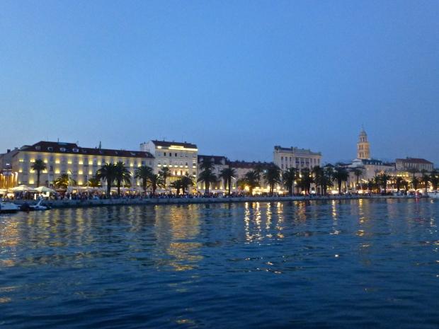 Split's Riva by Night
