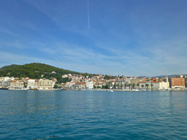 Views of Split from our Ship