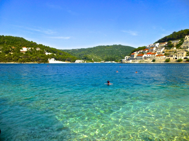 Our Swim Spot in Pucisca