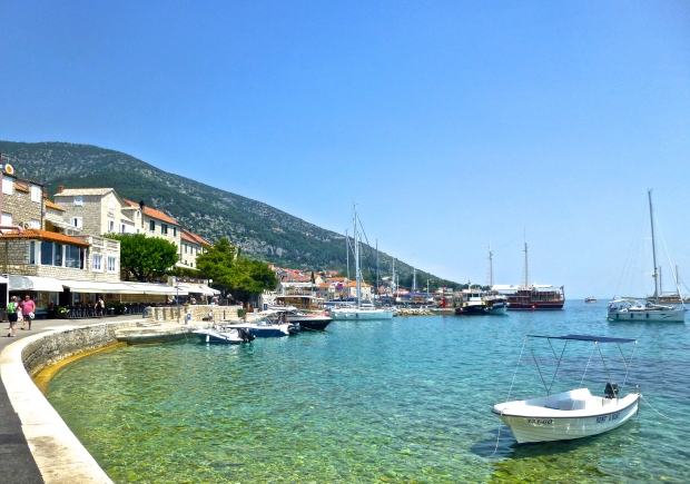 The town of Bol on Brac