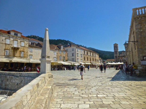 Main Square in Hvar Town