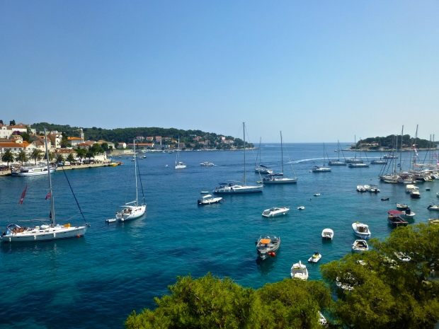 The View from Hotel Adriana in Hvar Town