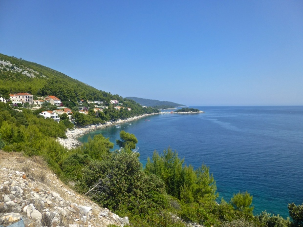 Beautiful Views from the Bike on Korcula