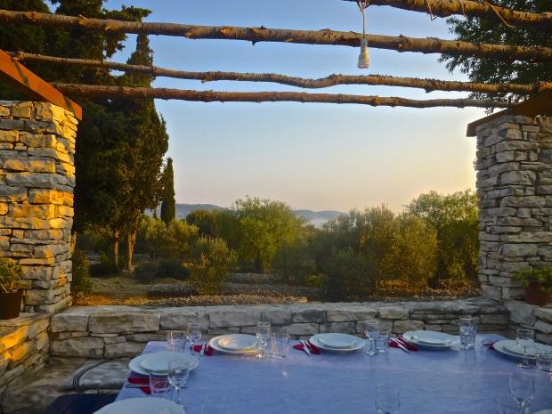 Dinner at an Olive Oil Farm on Korcula