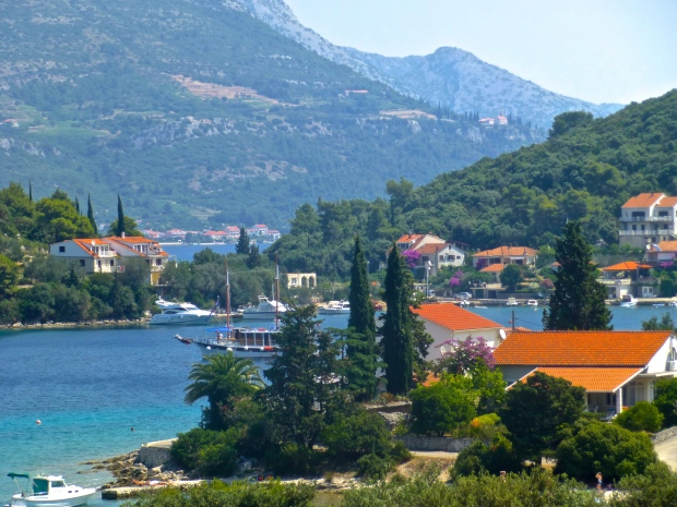 So many beautiful views from the bike on Korcula