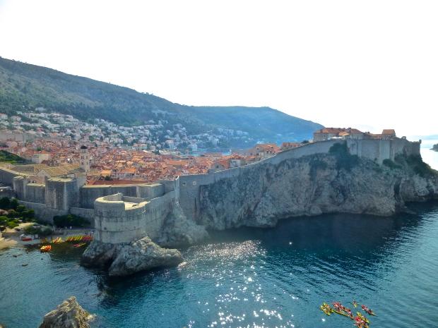 Dubrovnik from Fort Lovrijenac