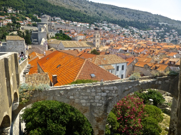 Walking along the Walls of Dubrovnik