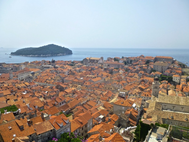 The Old Town from the Highest Point on the Wall