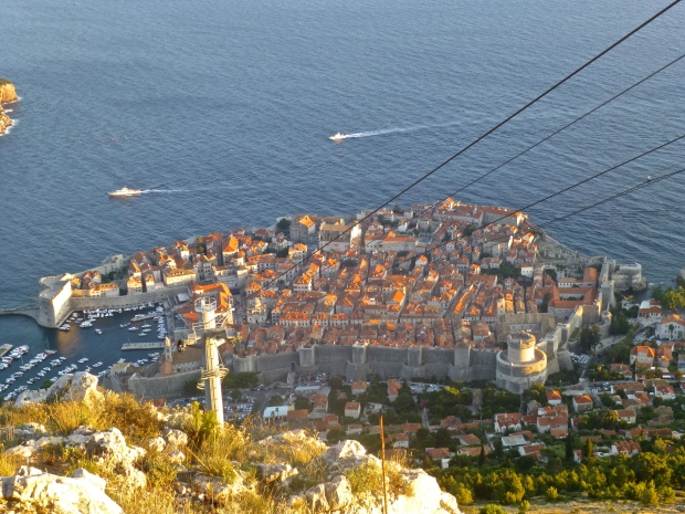 Dubrovnik from the Imperial Fortress